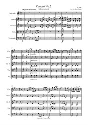 Seitz 3rd Movement from Pupil Student Violin Concerto No.2. Arranged for Violin and Strings (score and parts)
